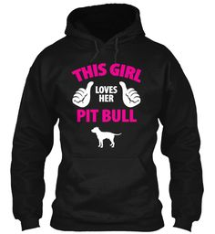 """Limited Edition """"Pit Bull Love"""" Hoodie 
