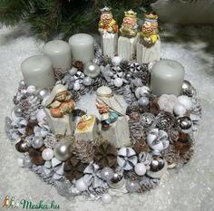 Betlehemi adventi koszorú (ZsannaMuhely) - Meska.hu Advent, Christmas Wreaths, Centerpieces, Holiday Decor, Home Decor, Decoration Home, Room Decor, Center Pieces, Home Interior Design