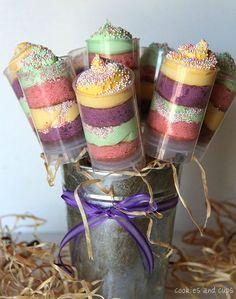 """""""Push up cake pops"""" para surpreender os convidados do casamento. #casamento #catering #sobremesas"""