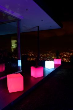 Led Furniture, Patio, Table Decorations, Outdoor Decor, Home Decor, Productivity, Products, Cubes, Decoration Home
