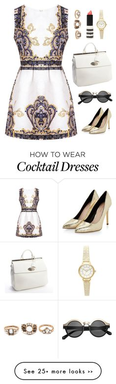 """No. 972"" by amyjswardrobe on Polyvore featuring Topshop, H&M, Mulberry and Forever 21"