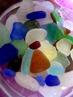 Family Hobby  - August 2012 Sea Glass Photo Contest: ~ By: Anonymous Where was this photo taken?  Lake Michigan, Simmons Island Beach, in Kenosha Wisconsin, USA  Date, time of day, and weather