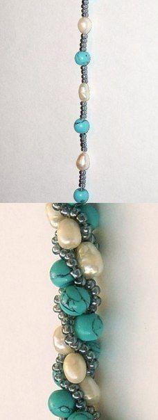 This Pin was discovered by Dan Crochet Beaded Bracelets, Seed Bead Bracelets, Beaded Jewelry, Handmade Jewelry, Beaded Necklace, Bead Crochet Patterns, Bead Crochet Rope, Ring Verlobung, Bracelet Tutorial