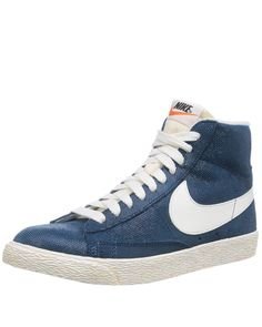 93126d08d18 Nike Blazer Mid Suede Vintage High Top Sneakers Shoes