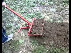 Innovative tool to plough - YouTube