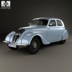 Peugeot 302 1936 3d model from humster3d.com