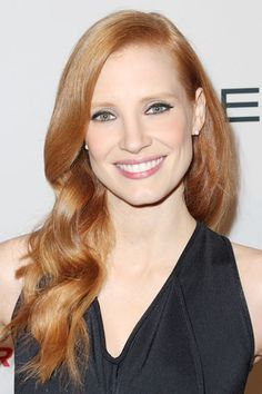 Hollywood's Most Requested Celebrity Hair Colors: Jessica Chastain