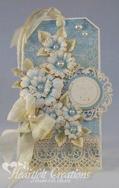 Heartfelt Creations | Vintage Floral Tag