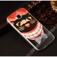 Novedad Carcasa barata divertida gato sonriente para tu Huawei G8