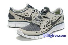 new style 398c2 d8e12 Billig Herren Schuhe Nike Free Run + (Farbe vamp,innen,logo-grau Sohle-weiB)  Online in Deutschland.