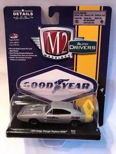 1:64 M2 MACHINES AUTO-DRIVERS R45 * 1969 Dodge Charger Daytona Hemi - 1128-45 #M2Machines #Dodge
