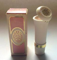 """Avon """"Lipstick A La Mode"""" Solid Fragrance & Lipstick Combo"""
