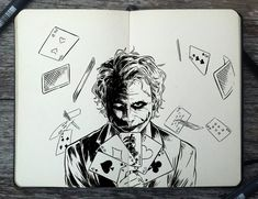 #258 Joker by 365-DaysOfDoodles.deviantart.com on @DeviantArt