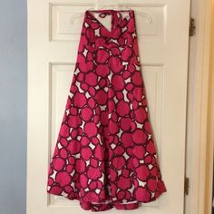 """J. Crew fully lined halter dress Back zip entry. 100% cotton. Underarm across 13"""". Length as shown 36"""". Bundle for even bigger savings! Offers welcome. No trades. J. Crew Dresses Maxi"""