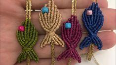 Diy Macrame Earrings, Collar Macrame, Macrame Bracelet Patterns, Macrame Bracelet Tutorial, Macrame Bag, Macrame Knots, Macrame Patterns, Macrame Jewelry, Macrame Bracelets