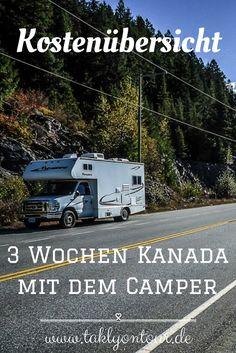 ⇒ Mit welchen Kosten musst du für einen #Roadtrip mit dem #Camper durch #Kanada rechnen? Wir haben Resümee gezogen und unsere #Reisekosten offengelegt.