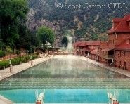 Cool off at the Carson Hot Springs, a true desert oasis offering relaxing spa treatments in Carson City, Nevada #Travel #Reno #NevadaTravel