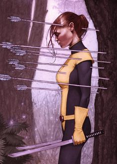 Kitty Pride Marvel Comics Art- I just love X-men so much!! The comics are great and they need to make more movies!!!