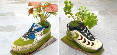 Kosuke Sugimoto tient un compte Instagram dans lequel il s'amuse à publier ses étonnants détournements de modèles Nike et Air Jordan. Concrètement, il fait pousser de la végétation sur ses chaussures préférées et le résultat est vraiment très réussi
