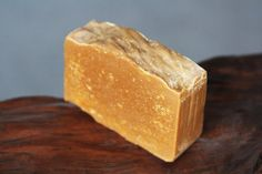 Caramel Honey Rustic Soap: Natural Vegan. by TheBathingRaven
