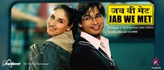 Jab We Met - Aditya, a demoralized industrialist, meets Geet, a beautiful talkative girl who is on her way to her hometown – Bhatinda. Watch the story unfold as the star-crossed lovers go on different paths.