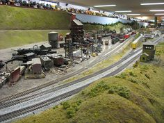 Medina Railroad Museum HO Scale Model Train Layout