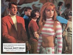 DEAN MARTIN ANN-MARGRET MURDERERS' ROW 1966