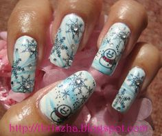 "Winter Nail Designs | FAB UR NAILS: ""WINTER BLISS"""