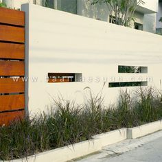 concrete fence - Wall Fencing Designs