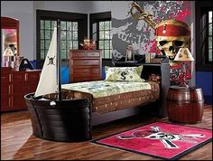 decorating theme bedrooms - maries manor: pirate bedrooms - pirate