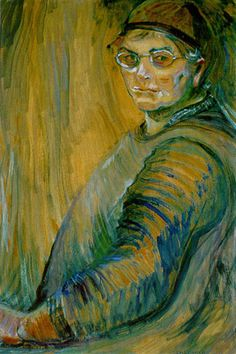 Artist Emily Carr, self portrait.Emily Carr was a Canadian artist and writer heavily inspired by the indigenous peoples of the Pacific Northwest Coast. Tom Thomson, Canadian Painters, Canadian Artists, Emily Carr Paintings, One Of Us, Art Inuit, Dulwich Picture Gallery, Art Chinois, Victoria