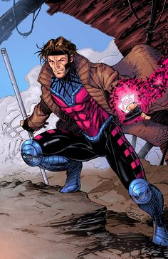Gambit Colors by SaviorsSon on DeviantArt Print for Sale on http://www.ericninaltowskiart.com/