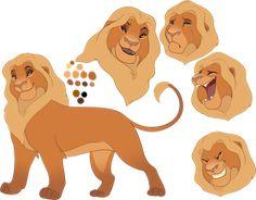 Tamu by oCrystal on DeviantArt Fan made blonde lion tlk Lion King Story, Lion King Fan Art, Lion King 2, Lion Art, Disney Lion King, Anime Lion, The Lion King Characters, Cat Character, Character Design