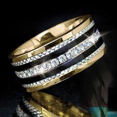 Phantom Gold Ring - Men's Rings - Men's Jewelry - Jewelry