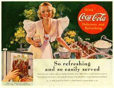 The Coke Hostess, 1937.