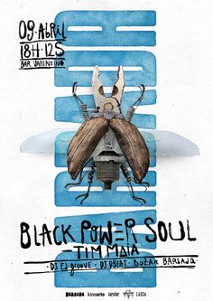 BARBADA. Black Power Soul on Behance
