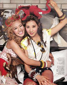 SNSD Hyoyeon and Seohyun – Nylon Magazine August Issue '12