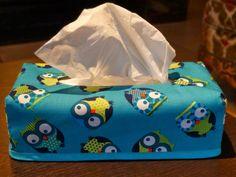 easy tissue box cover, omkeerbaar zakdoekhoesje