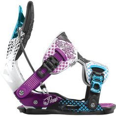 Flow Prima SE women's snowboard binding.