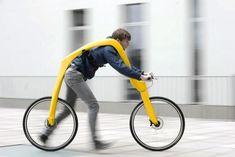 Este vehículo te permite correr y andar en bicicleta al mismo tiempo - Notas - La Bioguía