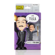 Heroes you can grow with Several years ago I set out on a journey...My goal was to create a line of action figures based on the heroes of my adult life; people like Albert Einstein and Nikola Tesla, w