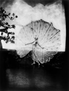 (Rose) Dolores in her peacock costume Ziegfeld Follies, 1920