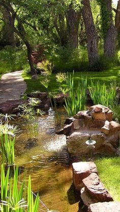 Backyard pond and waterfalls rocks 60 Ideas for 2019 Beautiful Landscapes, Beautiful Gardens, Beautiful Places, Beautiful Pictures, Ponds Backyard, Water Garden, Nature Pictures, Amazing Nature, Shade Garden