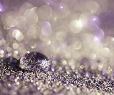Purple Glitter Decor Photograph pastel