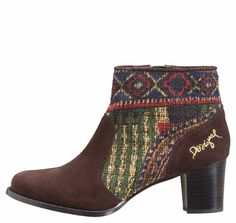 Desigual Boots Cris by Lacroix Ballerinas, Bootie Boots, Ankle Boots, Ayala Bar, Pumps, Online Fashion Stores, Casual Boots, Cute Shoes, Cool Style