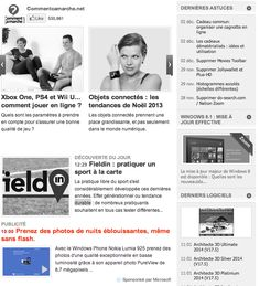 exemple native advertising Native Advertising, Wii U, Voici, Nativity, Messages, Organization, The Nativity, Text Posts