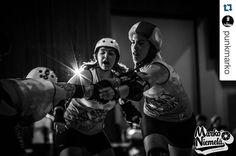 Helsinki Roller Derby vs. Rocky Mountain at the Big O from @punkmarko #Bigo2016 #hrdallstars #helsinkirollerderby  #rollerderby #wftda @helsinkirollerderby @rockymountainrollergirls by emeraldcity_rd