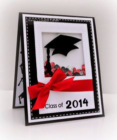 Stacey s Creative Corner MCT Inspiration Wednesday Graduation Cards Handmade, Greeting Cards Handmade, Graduation Gifts, Graduation Ideas, Shaker Cards, Congratulations Card, Graduation Invitations, Card Tags, Card Kit