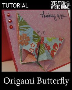 Tutorial - Origami Butterfly