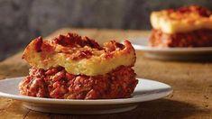 Upside-Down Pizza Sausage Pizza Recipe, Sausage Recipes For Dinner, Sausage Lasagna, Pizza Recipes, Pork Recipes, Casserole Recipes, Cooking Recipes, Budget Recipes, Pizza
